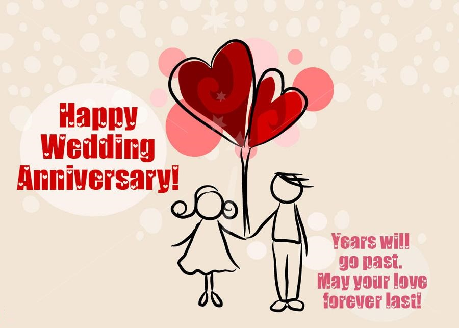 Marriage anniversary day image ~ Happy wedding anniversary quotes wishes messages